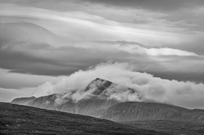 A Cloud capped Cul Mor Assynt