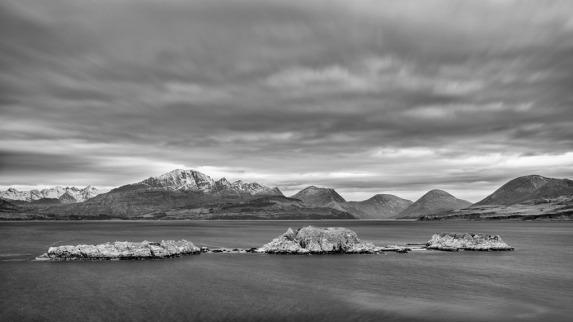 Across Loch Eishort Isle of Skye