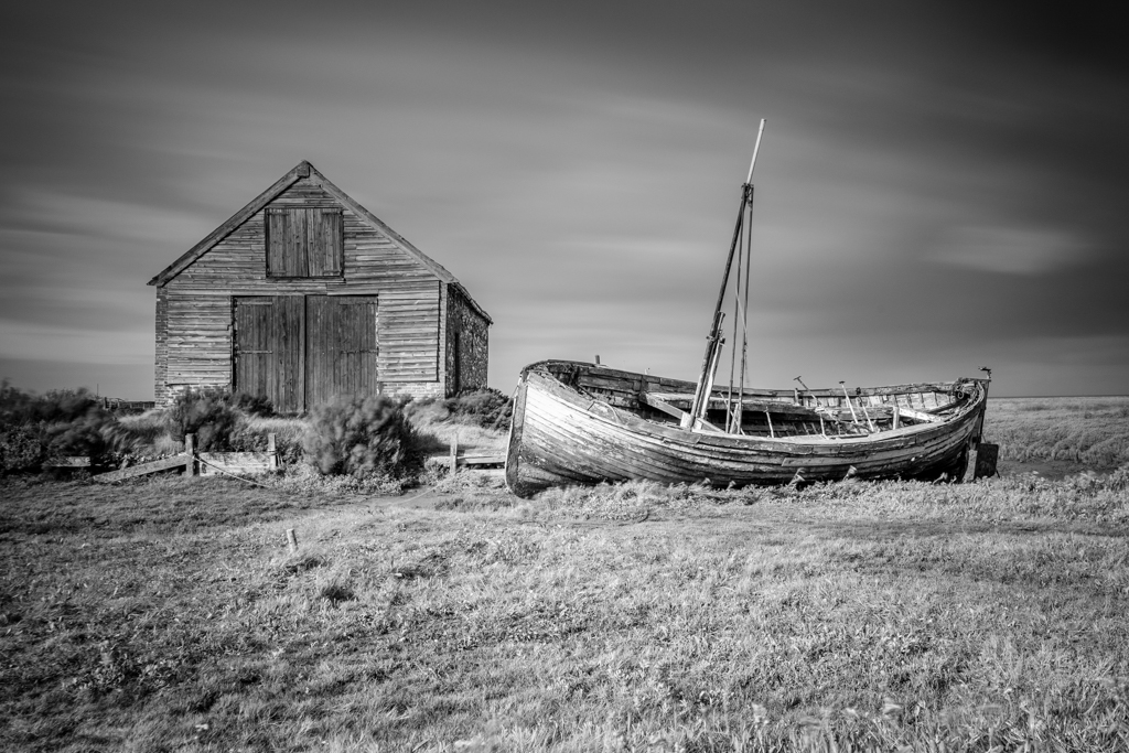 Old boat Thornham