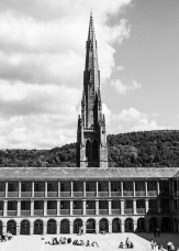 Piece Hall, East Galleries and Square Spire, Halifax