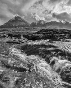 Sligachan River and Sgur Mhairi