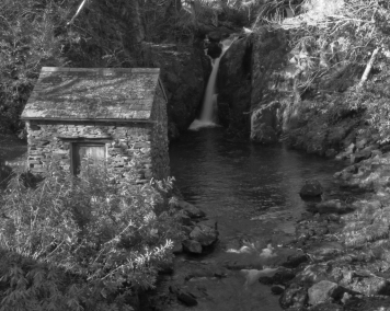 Waterfall at Rydal Mount