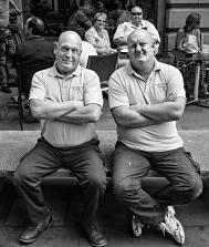 Workmen St Anns Square Manchester