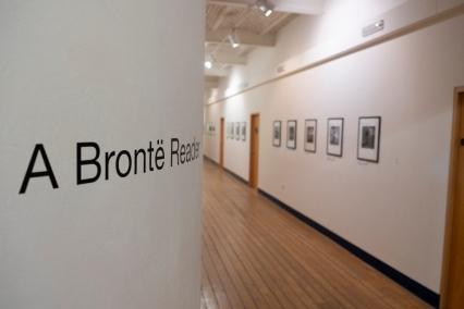 Helen Burrow's A Bronte Reader Exhibition at Dean Clough, February 2019