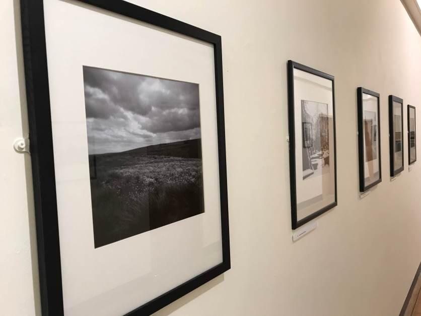 Helen Burrow's A Bronte Reader Exhibition at Dean Clough, February 2019