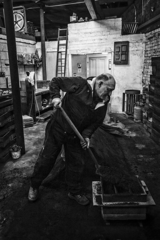 Keith's Foundry 1, Andy Marland