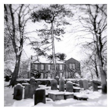 Haworth Parsonage in the Snow