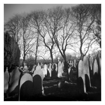 Haworth Graveyard, March